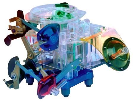 东风,解放汽车,柴油机,桑塔纳,广州本田部件透明教学模型