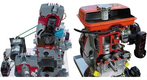 玩具车照明电路原理